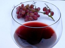 červené víno, elixír života